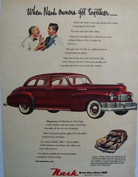 Nash Owners Get Together Ad 1948