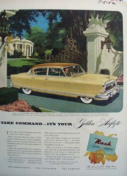 Nash Take Command Ad 1952