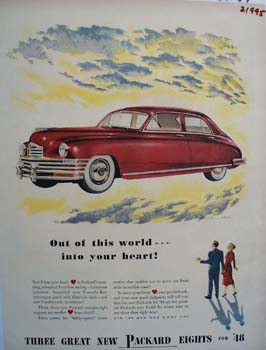 Packard Out Of This World Ad 1947