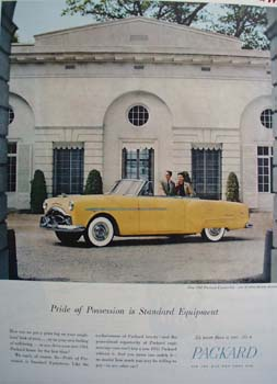 Packard Pride Of Possession Ad 1948