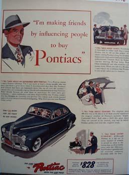 Pontiac Making Friends Ad 1941