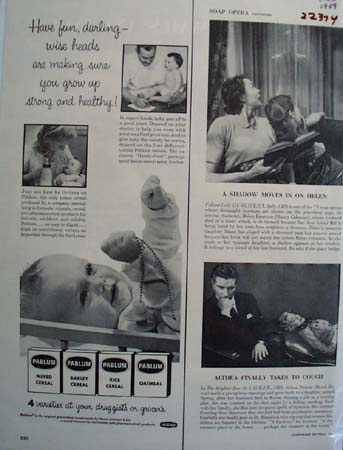 Pablum Have Fun Darling Ad 1954