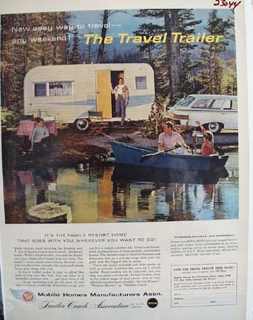 Mobile Homes Manufacturers Assn Ad 1959