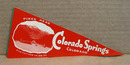 1948 paper stick on Pennants Colorado Springs