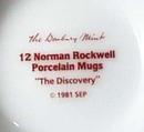 Norman Rockwell pedestal mug, Circus Clown, 1981