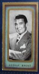 1938 George Brent Film Favourites Card,