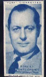 1949 Robert Montgomery movie card