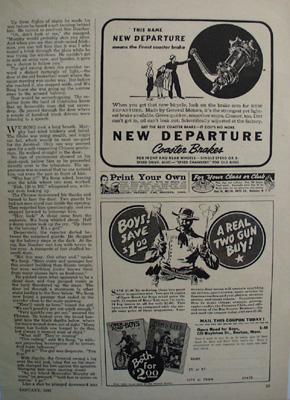 New Departure Brake Means Finest Coaster Brake Ad 1940
