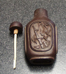 Carved Wooden Snuff Bottle