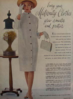 Maternity Clothes Smarter And Prettier Ad 1963