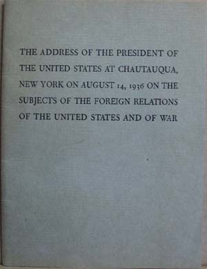 President address of 1936