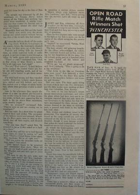Winchester Rifle Match Winners Ad 1938