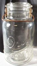 Drey Improved Ever Seal Clear Qt Canning Jar