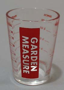 Garden Measure Glass,