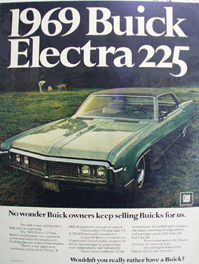 Buick Owners Keep Selling Buicks For Us Ad 1968