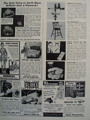 Shop By Mail Kenya Corporation Ad 1960