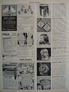 Shop By Mail Vernons Ad 1965