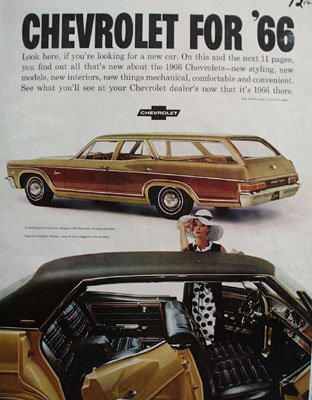 Chevrolet For 1966 Ad