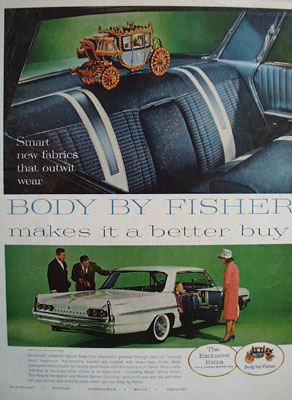 Body By Fisher Makes It Better Buy Ad 1961