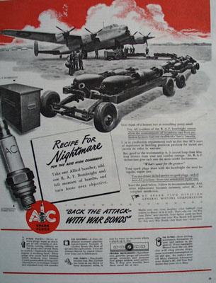 AC Spark Plugs Recipe for Nightmare For Axis Ad 1943