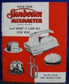 Dating Sunbeam mixmaster