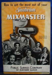 Sunbeam Mixmaster Guide No Date