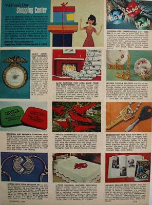 Vernon Golden Cherub Holders Ad 1968