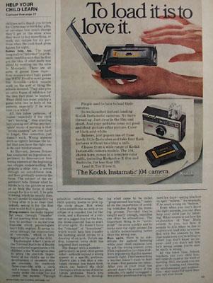 Eastman Kodak To Load It Ad 1967