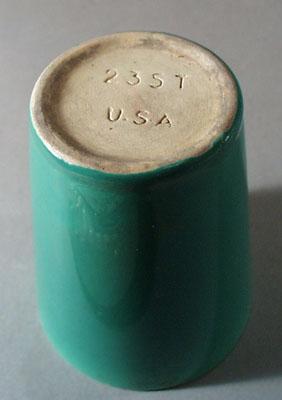 Pottery tumbler 235T U.S.A