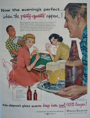 Owens Illinois Evenings Perfect Ad 1957