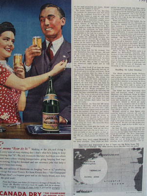 Canada Dry Ever At It Ad 1944