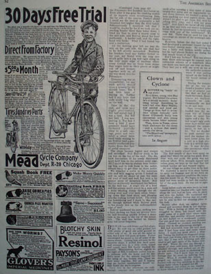 Mead Cycle 30 Day Free Trial Ad 1926