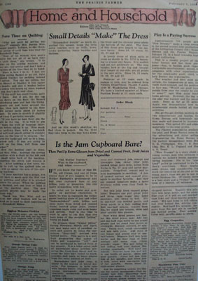 Prairie Farmer Home and Household Article 1930