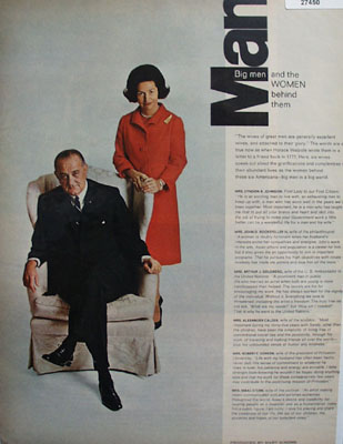 Big Men And The Women Behind Them Article 1967