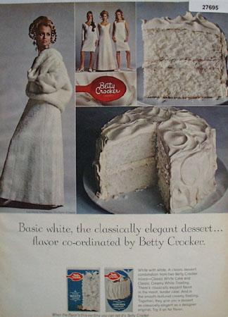 Betty Crocker Basic White Ad 1967