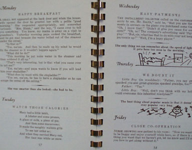 Tourist Edition Eat and Be Merry Cookbook 20th Century
