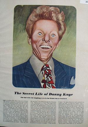Danny Kaye Secret Life Article 1948