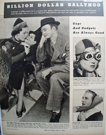 Charlie McCarthy And Dorothy Lamour Picture  1938