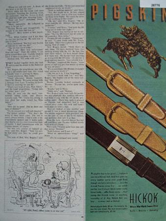 Hickok Belt  Ad May 6, 1944