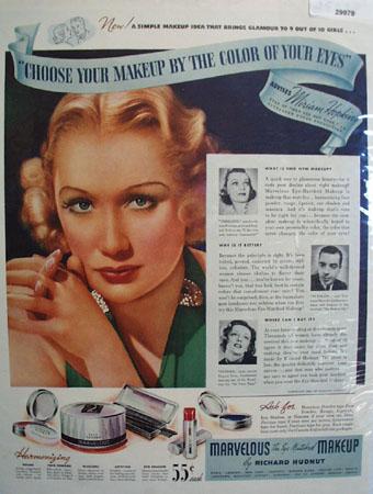 Richard Hudnut and Miriam Hopkins Ad 1937