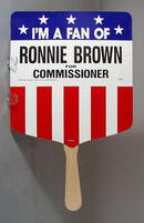 Political Fan for Ronnie Brown, Alabama
