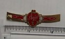 Vintage Agio Cigar Band from Netherlands