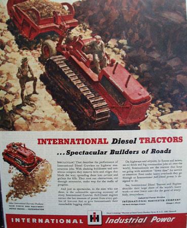 International Harvester Co. 1946 Ad