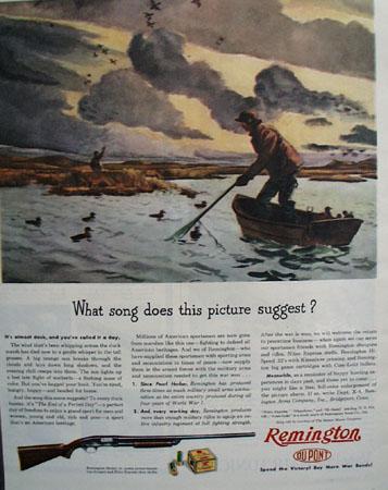 Remington Dupont 1943 Ad