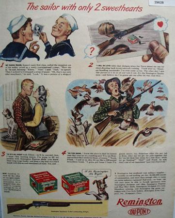 Remington Arms 1944 Ad