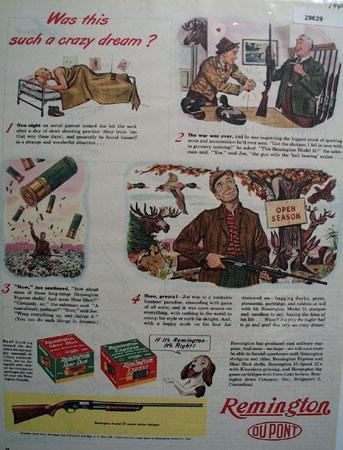 Remington Dupont 1944 Ad