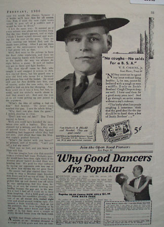 Smith Brothers Cough Drops 1930 Ad