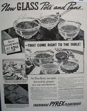 Pyrex Ovenware 1937 Ad