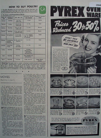 Pyrex Ovenware 1938 Ad