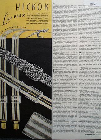 Hickok Belts Wallets Live Flex Ad 1946